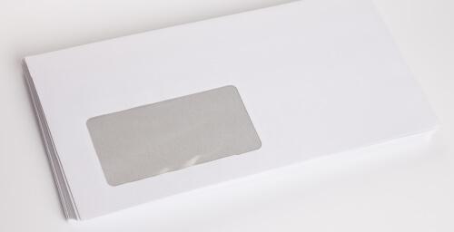 イメージ:窓付き封筒